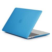 "MacBook New Air 2018 - 2020 Retina tok, 13"", light blue, védőtok típusú"