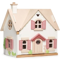 Tender Leaf Toys fa babaház - Cottontail Cottage, 25 darabos