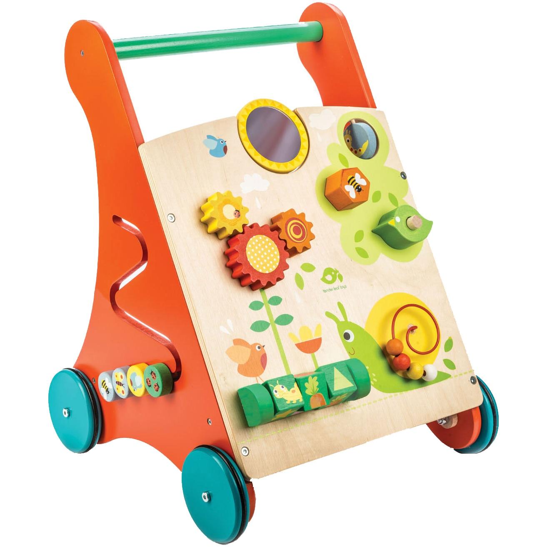 Fotografie Antepremergator din lemn Tender Leaf Toys cu activitati
