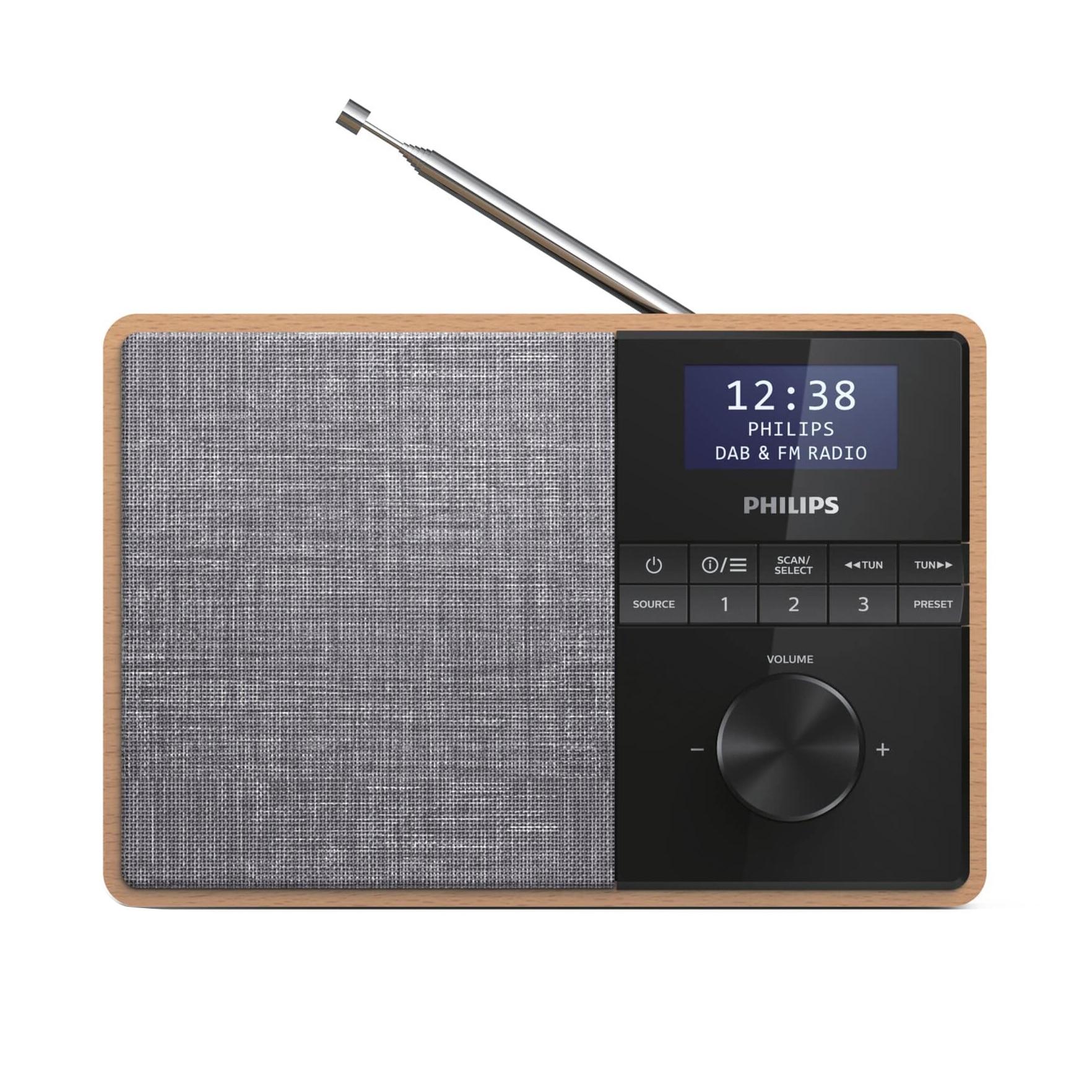 Fotografie Radio portabil Philips TAR5505/10, DAB+, FM,