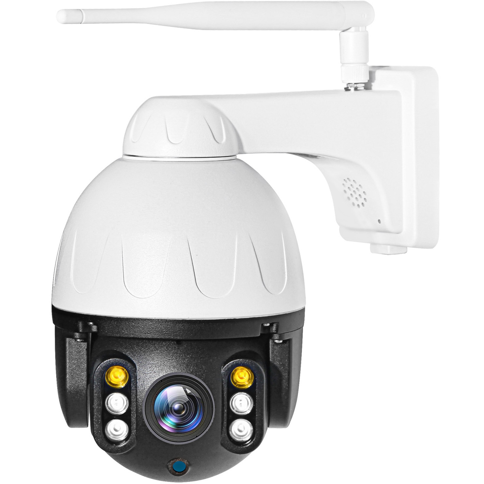 Fotografie Camera supraveghere video PNI SafeHome PTZ382 1080P WiFi, control prin internet, aplicatie dedicata Tuya Smart, integrare in scenarii si automatizari smart cu alte produse compatibile Tuya