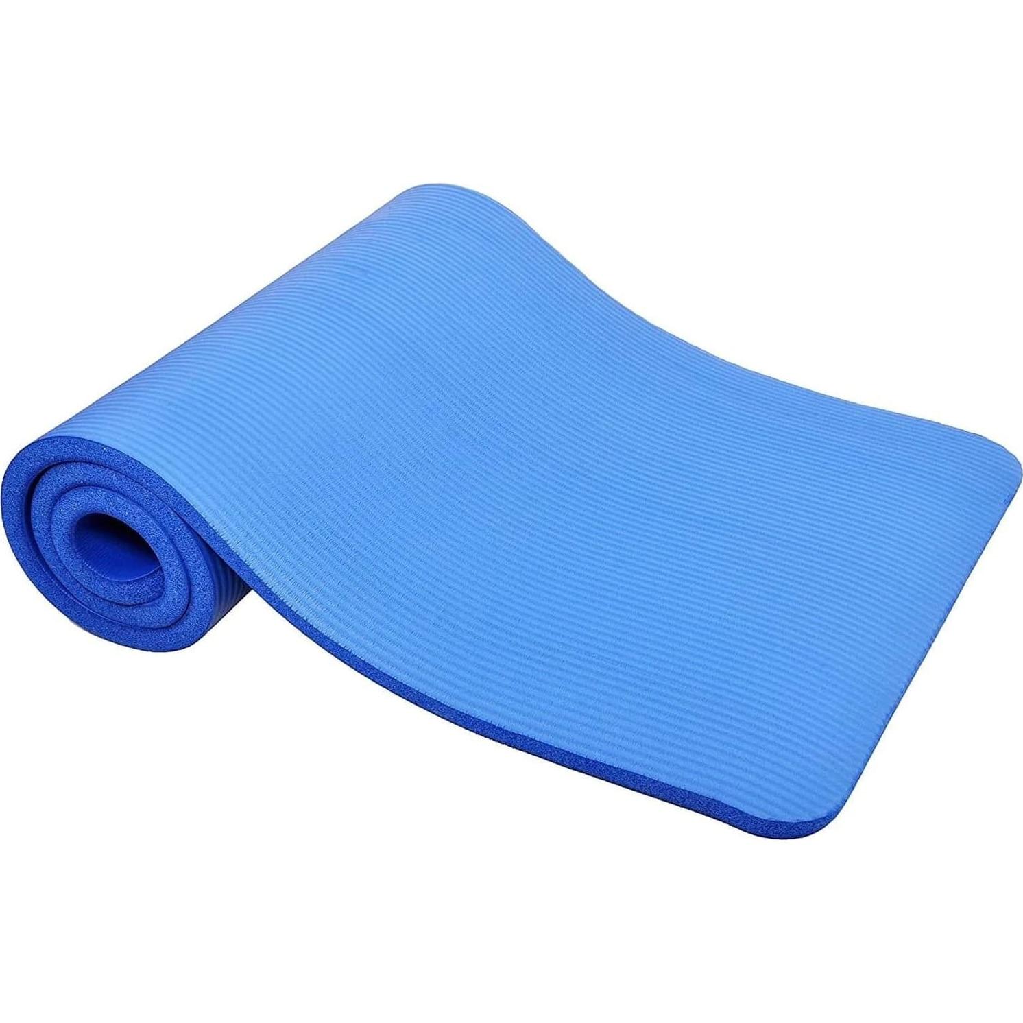 Fotografie Saltea fitness/yoga/pilates Techfit, 180x60x1cm, albastru