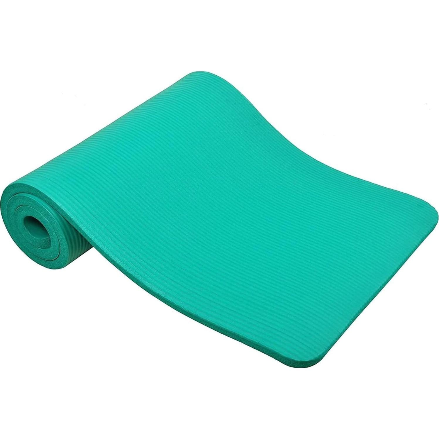Fotografie Saltea fitness/yoga/pilates Techfit, 180x60x1cm, verde