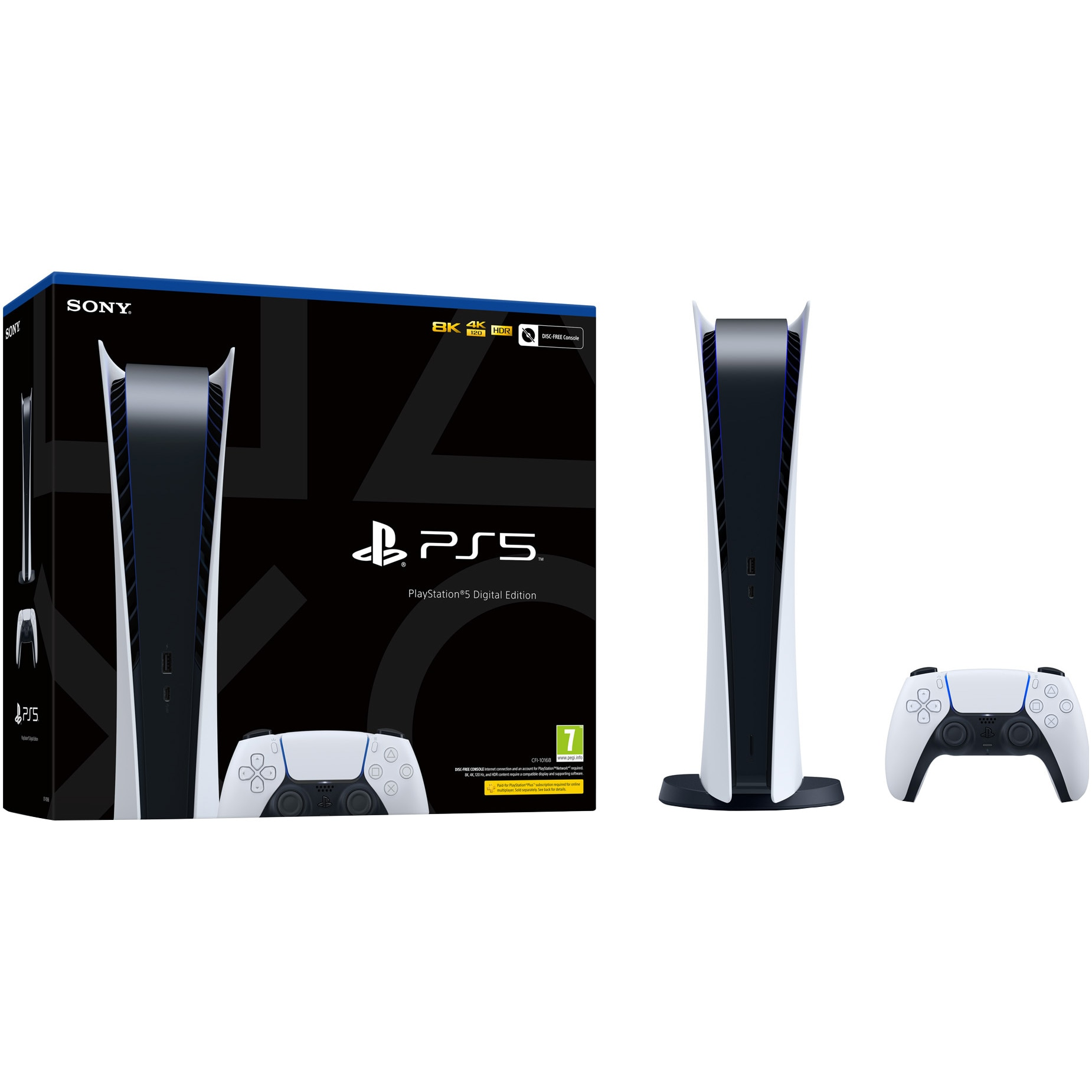 Consola PlayStation 5 Digital Edition - eMAG.ro