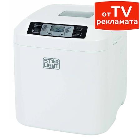 Хлебопекарна Star-Light MPD-550W, 550W, 12 програми, капацитет 900 гр,