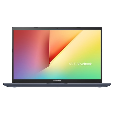 Лаптоп ASUS VivoBook 15 M513IA-WB511T с AMD Ryzen 5 4500U (2.3/4.0GHz, 8M), 8 GB, 1TB M.2 NVMe SSD, AMD Radeon Vega 6, Windows 10 Home 64-bit, тъмносин