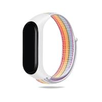 Xiaomi Mi Band 3 / Mi Band 4 / Mi Band 5 okoskarkötő tépőzáras pótszíj színes