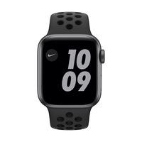 Apple Watch Nike SE GPS + Cellular, 40 mm asztroszürke alumínium tok antracit / fekete Nike sportszíj