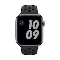 Apple Watch Nike SE GPS, 44 mm asztroszürke alumínium tok antracit / fekete Nike sportszíj