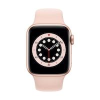 Apple Watch Series 6 GPS + Cellular, 40mm arany alumínium tok rózsaszín homok sportszíj