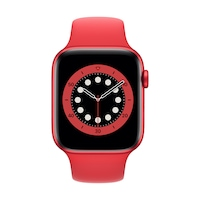Apple Watch Series 6 GPS + Cellular, 44 mm-es PRODUCT (RED) alumínium tok PRODUCT (RED) sportszíj