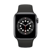 Apple Watch Series 6 GPS, 40 mm asztroszürke alumínium tok fekete sportszíj