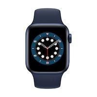 Apple Watch Series 6 GPS, 40 mm-es kék alumínium tok kék sportszíj