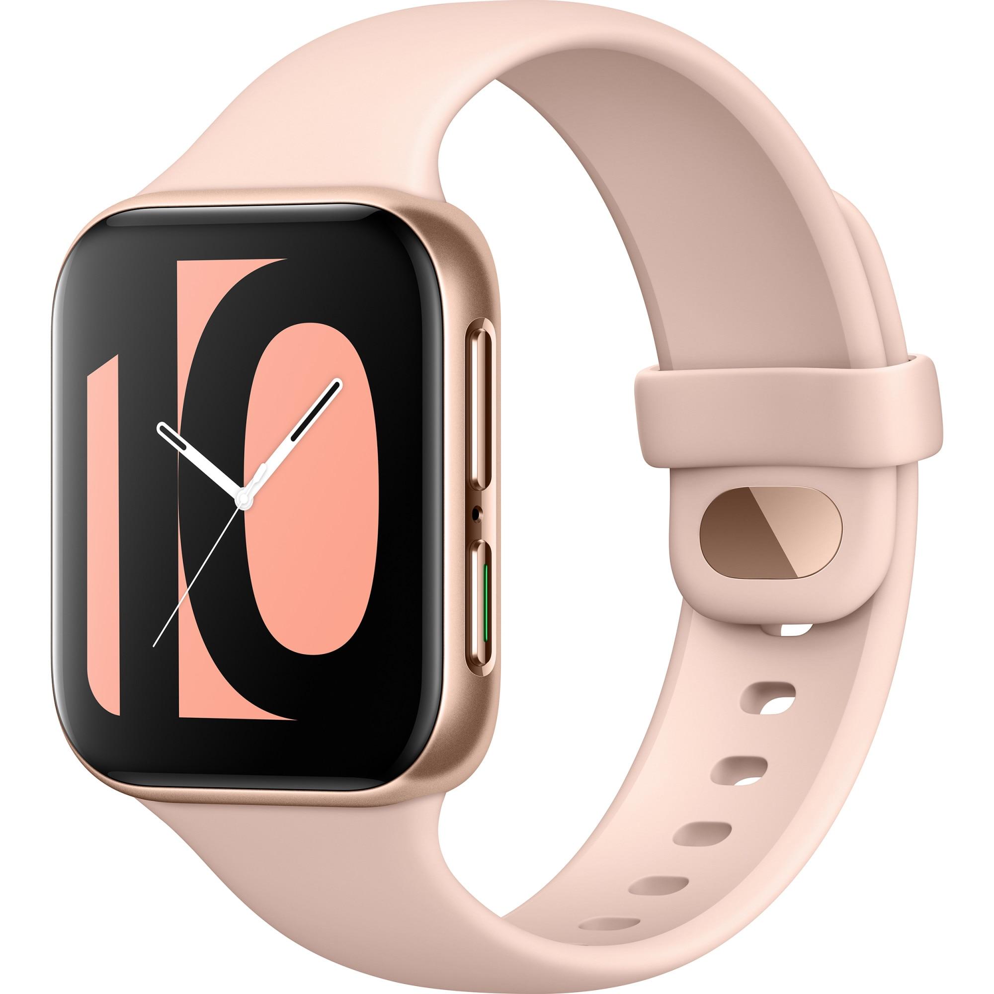 Fotografie Ceas smartwatch Oppo Watch, 41mm, Pink Gold