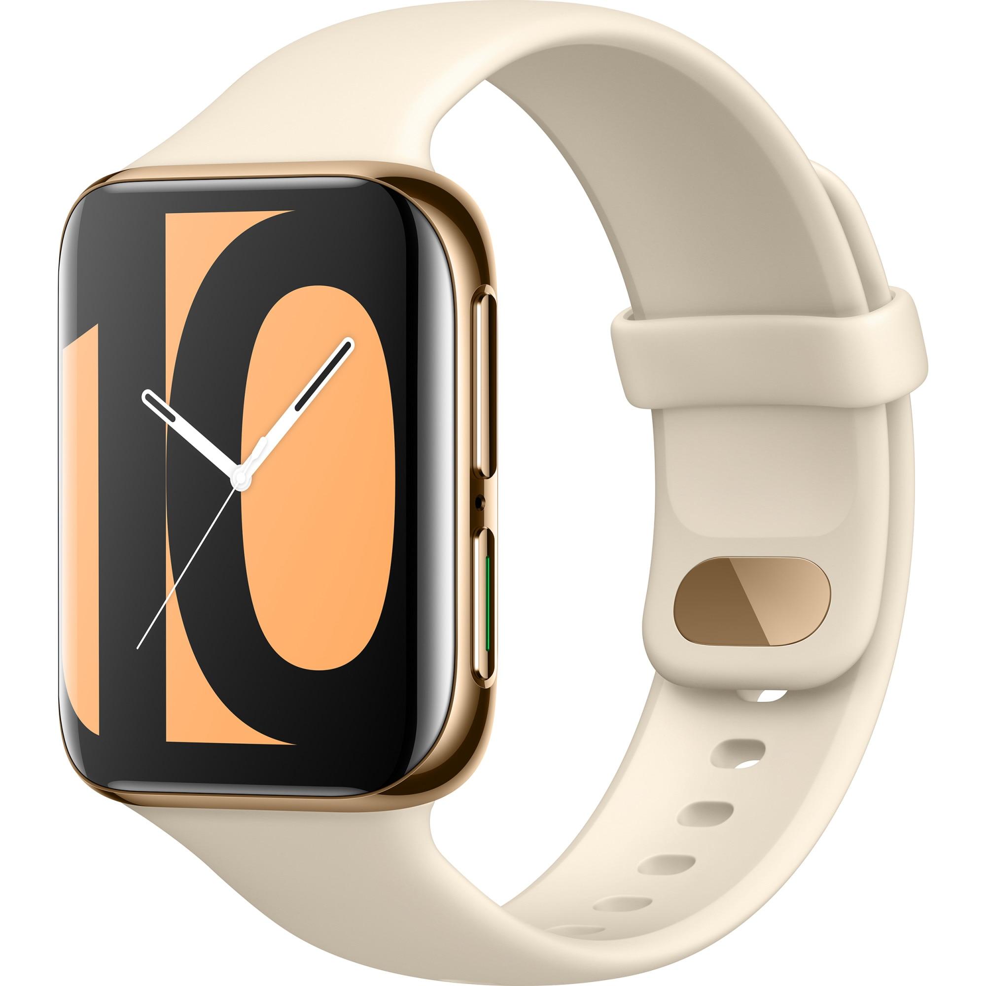 Fotografie Ceas smartwatch Oppo Watch, 46 mm, Golden