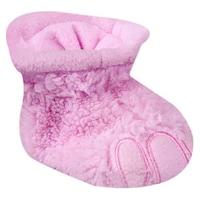 Tappancs mintás wellsoft baba mamusz, kocsicipő, újszülött cipő (Halvány rózsaszín, 6-12 hó, 10 cm)