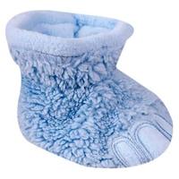 Tappancs mintás wellsoft baba mamusz, kocsicipő, újszülött cipő (Világoskék, 6-12 hó, 10 cm)