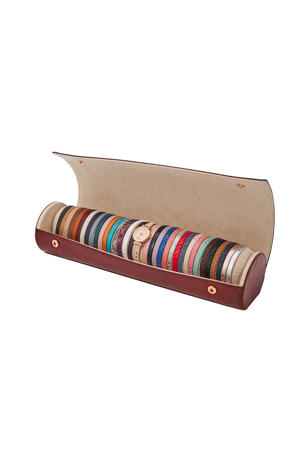 Fotografie Fossil, Set cadou de ceas cu trei indici si curea intersanjabila, Multicolor
