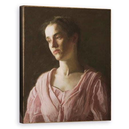 Thomas Cowperthwait Eakins - Maud Cook Mrs. Robert C. Reid, Vászonkép, 80 x 100 cm