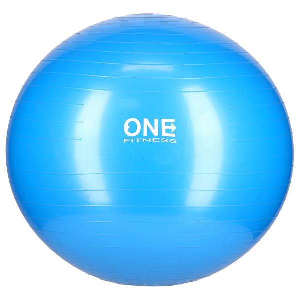 Fotografie Minge fitness/yoga/pilates One Fitness, 65cm, albastru