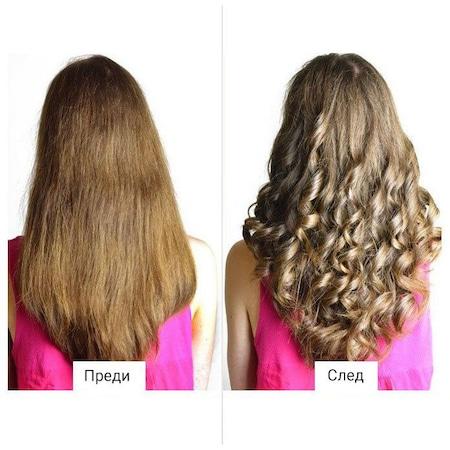 Професионална маша за коса, Omnia, 230 V, 50HZ, 210 градуса, 30 W, Турмалиново покритие