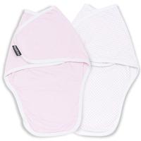 Baba takarók 2 db, Bellochi MiMi Pink, 0-3 hó, fehér és rózsaszín