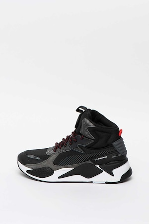 Puma, RS-X Mid Les Benjamins sneaker, Fekete, 11