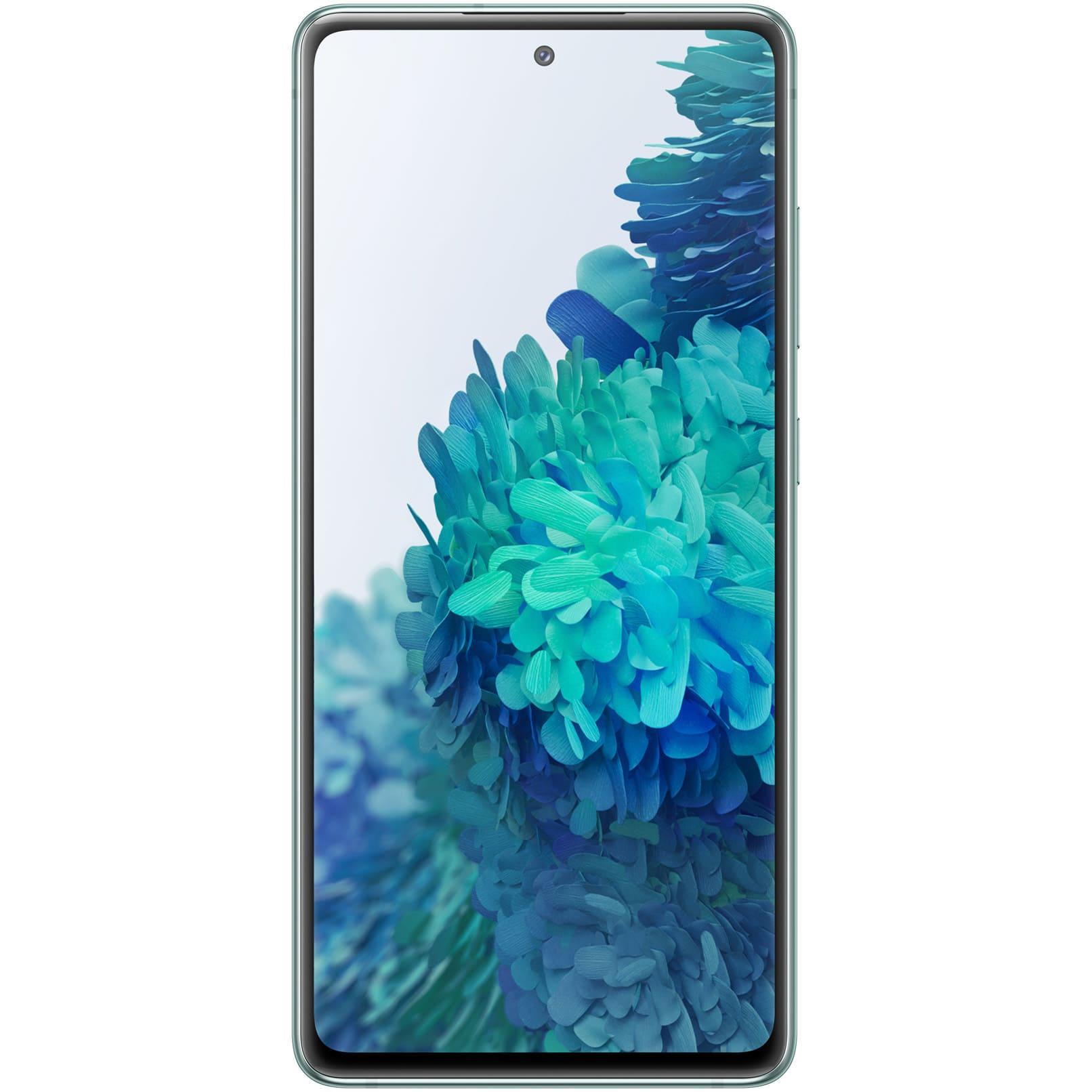 Fotografie Telefon mobil Samsung Galaxy S20 FE, Dual SIM, 128GB, 6GB RAM, 4G, Cloud Mint