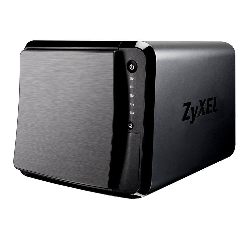 Fotografie Network Storage ZyXEL NAS542-EU0101F, Personal Cloud Storage, Dual Core 1.2Ghz, 1GB DDR3, 4 Bay, 3 x USB 3.0