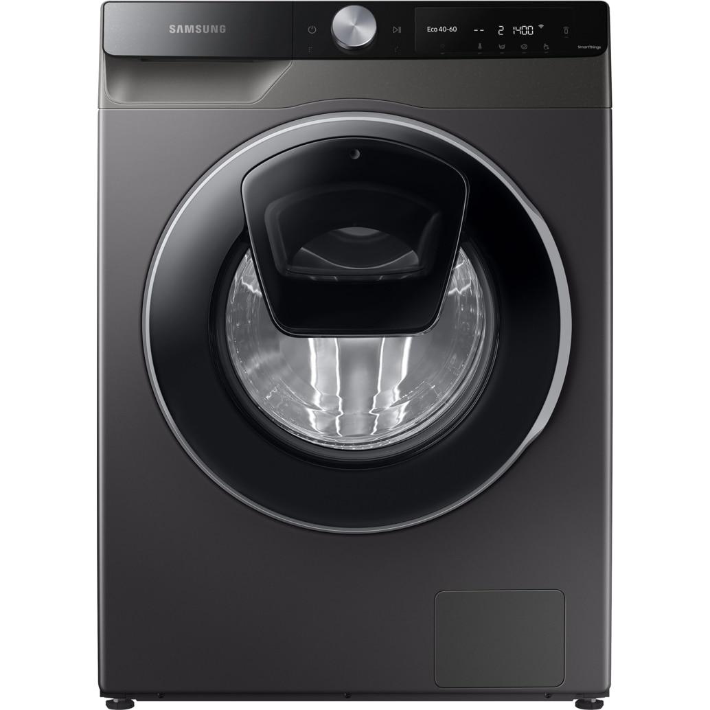 Fotografie Masina de spalat rufe Samsung WW90T654DLX/S7, 9 kg, 1400 RPM, Clasa A+++, Add Wash, AI Control, Steam, Super Speed 59, Drum Clean+, Motor Digital Inverter, Wifi, Inox