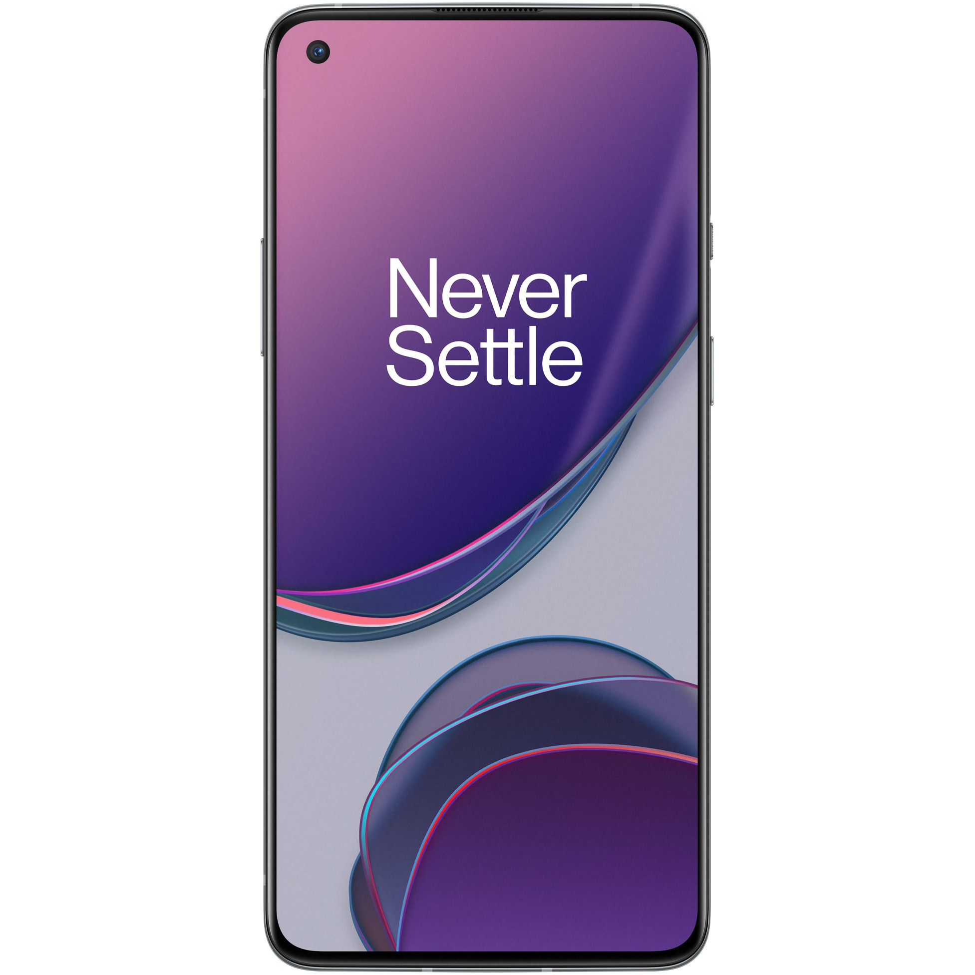 Fotografie Telefon mobil OnePlus 8T, Dual SIM, 128GB, 8GB RAM, 5G, Lunar Silver
