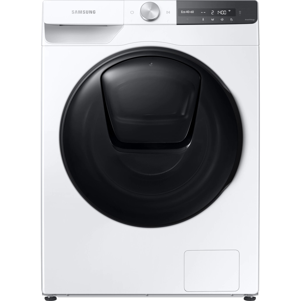 Fotografie Masina de spalat rufe Samsung WW80T754DBT/S7, 8 kg, 1400 RPM, Clasa B, QuickDrive, AI Control, Add Wash, Steam, Super Speed 39, Motor Digital Inverter, Wifi, Alb