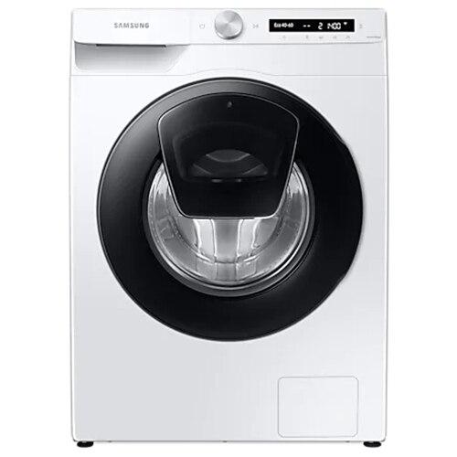 Fotografie Masina de spalat rufe Samsung WW90T554DAW/S7, 9 kg, 1400 RPM, Clasa A, Add Wash, AI Control, Steam, Eco Bubble, Drum Clean, Motor Digital Inverter, Wifi, Alb