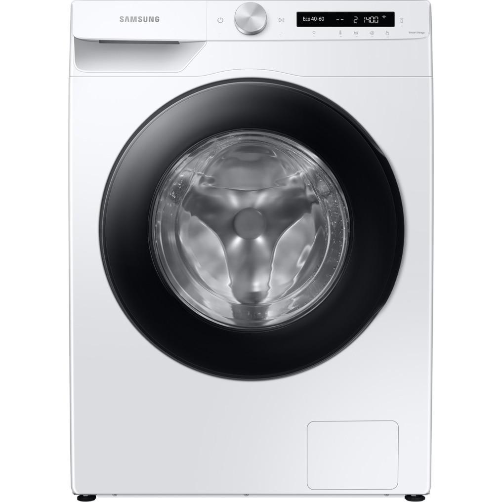 Fotografie Masina de spalat rufe Samsung WW10T534DAW/S7, 10.5 kg, 1400 RPM, Clasa D, Auto-Dispenser, AI Control, Steam, Eco Bubble, Drum Clean, Motor Digital Inverter, Wifi, Alb