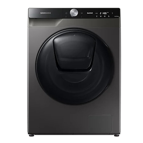 Fotografie Masina de spalat rufe cu uscator Samsung WD90T754DBX/S7, Spalare 9 kg, Uscare 6 kg, 1400 RPM, Clasa B, QuickDrive, AI Control, Add Wash, Super Speed 39, Steam, Motor Digital Inverter, Wifi, Inox