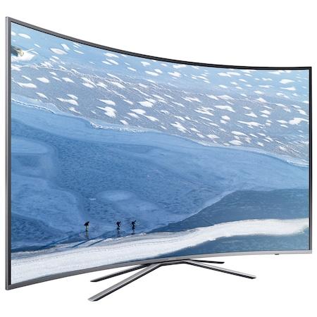 """Телевизор LED Извит Smart Samsung, 55"""" (138 см), 55KU6502, 4K Ultra HD"""