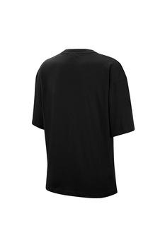Nike, Tricou lejer cu imprimeu logo, Verde oliv