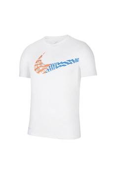 Nike, Legend logós edzőpóló, Fehér, 2XL