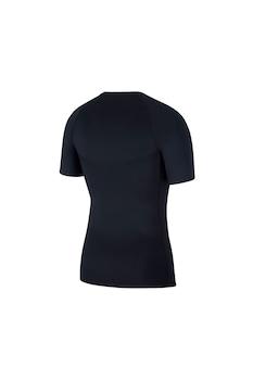Nike, Pro szűk szabású sportpóló, Fekete