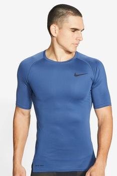 Nike, Pro szűk szabású sportpóló, Kék