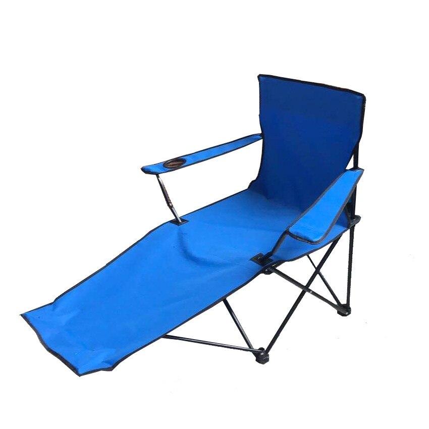 Fotografie Sezlong camping Zelten, 115x91x88cm, albastru