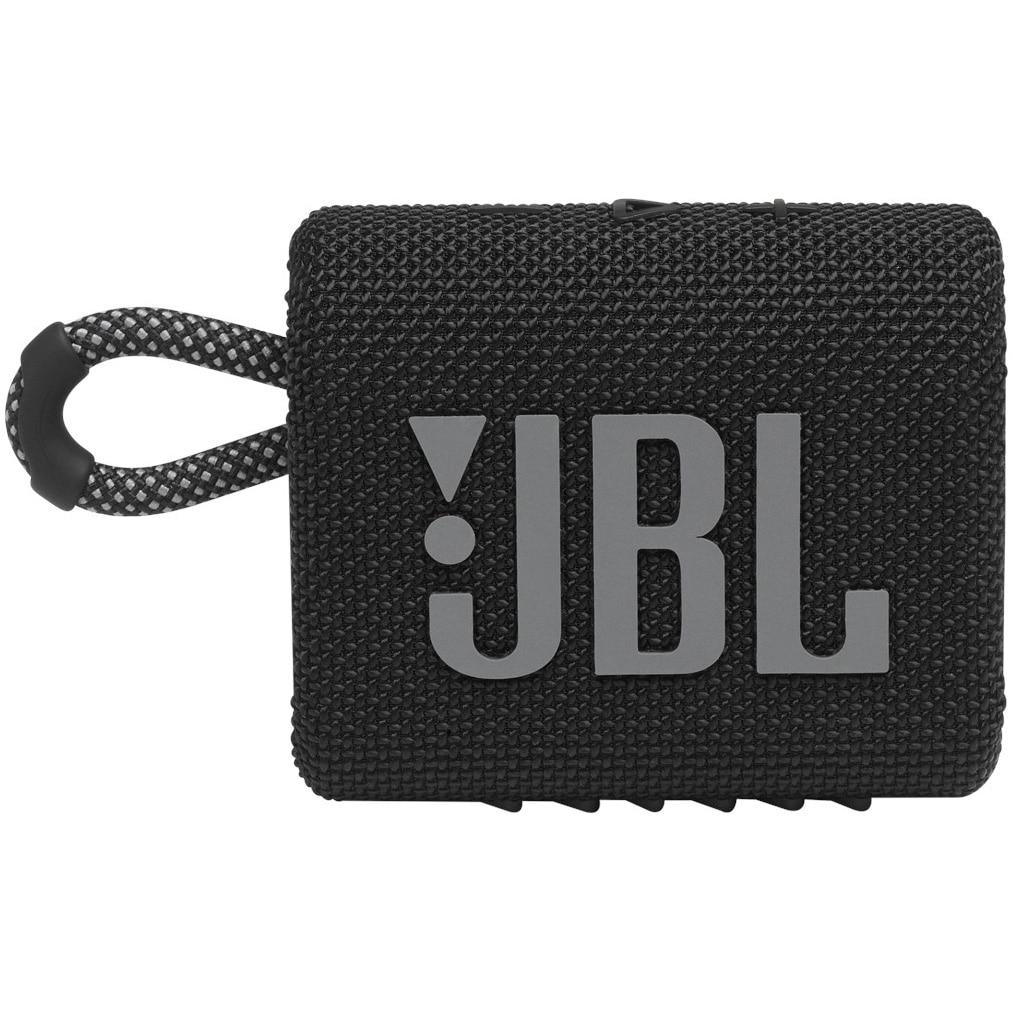 Fotografie Boxa portabila JBL GO3, IPX67, Bluetooth, Negru