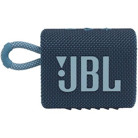 Преносима тонколона JBL GO3, IPX67, Bluetooth, Син