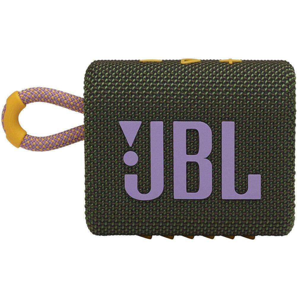 Fotografie Boxa portabila JBL GO3, IPX67, Bluetooth, Verde-Roz