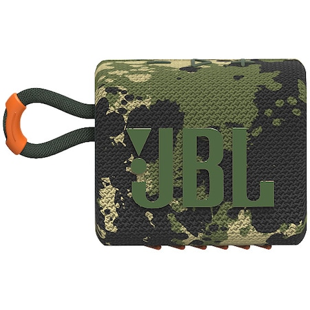 Boxa portabila JBL GO3, IPX67, Bluetooth, Camuflaj