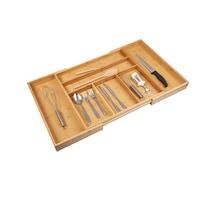 Állítható bambusz evőeszköztartó, 210/50, 50-81 x 5,3 x 46,5 cm