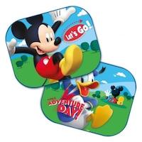 Autós napellenző Disney Mickey-Donald 2 db