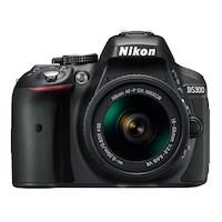 Фотоапарат DSLR Nikon D5300, 24.2MP, Черен + Обектив AF-P 18-55мм VR