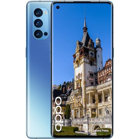 Telefon mobil OPPO Reno 4 Pro, Dual SIM, 256GB, 12GB RAM, 5G, Galactic Blue