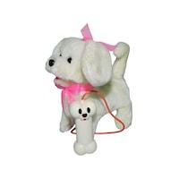 Robentoys® RC Plüss Kutyus, 24x17,5x9 Cm, fehér szín
